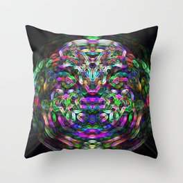 The Man of the Hour Throw Pillow