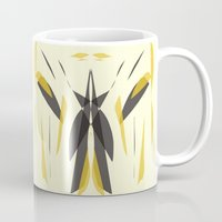 knight Mugs featuring Knight by lillianhibiscus