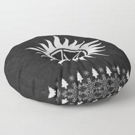 Supernatural Holiday Sweater Floor Pillow