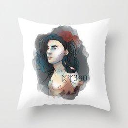 HP Sirius 390 Throw Pillow