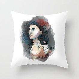 HP Sirius 390 Throw Pillow