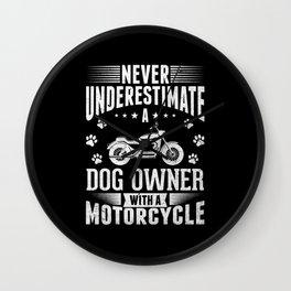 Motorcycle Motorcycles Gift Wall Clock