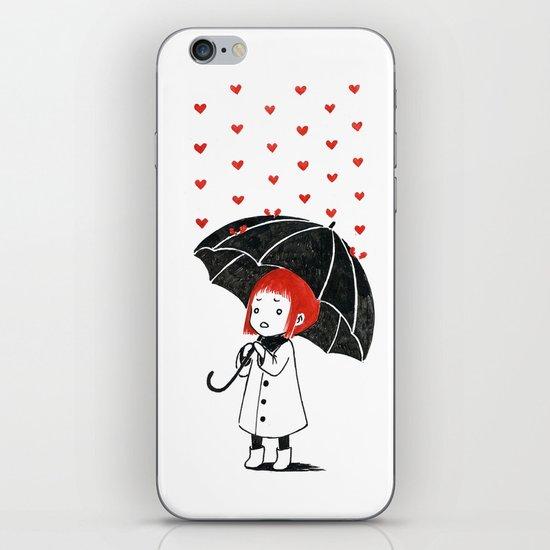Love rain iPhone & iPod Skin