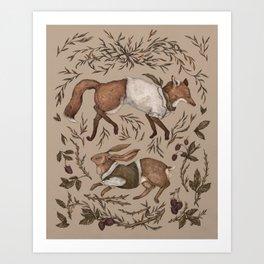 Tricksters Art Print