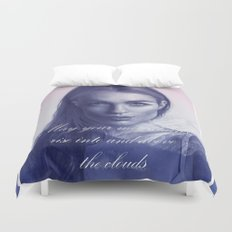 A song to the mountains Duvet Cover