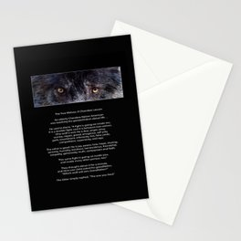 TWO WOLVES CHEROKEE  Native American Tale Stationery Cards