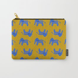 Blue Elephant Carry-All Pouch