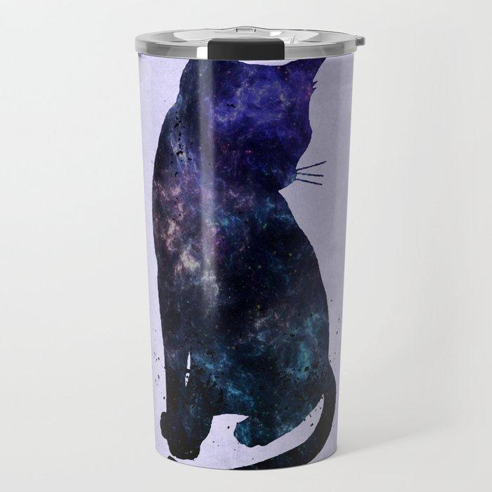 Galactic Cat Travel Mug