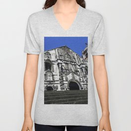 Our Lady of the Gate Parish Church Unisex V-Neck