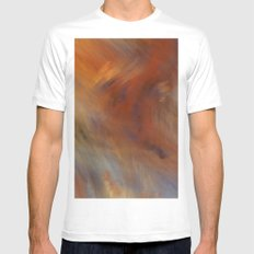 Storm in Space  (A7 B0230) MEDIUM Mens Fitted Tee White