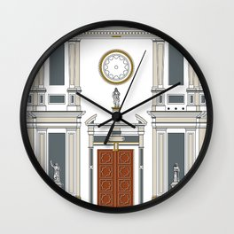 Iglesia de San Francisco Wall Clock