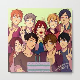 Soumako Budget Birthday Metal Print