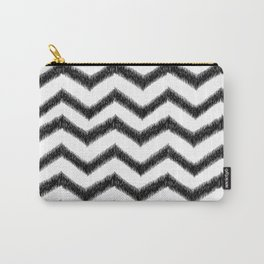 Ikat Chevron Carry-All Pouch