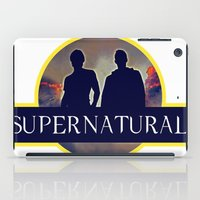 supernatural iPad Cases featuring Supernatural  by amirshazrin