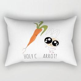 HOLY C...ARROT! Rectangular Pillow