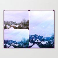xmas Canvas Prints featuring Xmas by Rose Etiennette