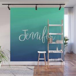 Jennifer Wall Mural