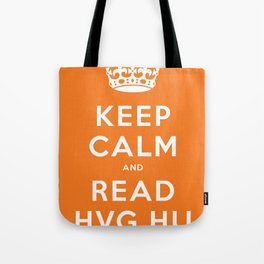 Keep calm and read HVG.hu Tote Bag