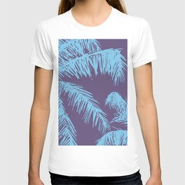 Ultra Violet Palm Print T-shirt