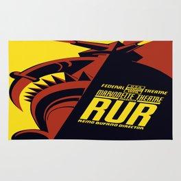 Vintage poster - RUR Rug