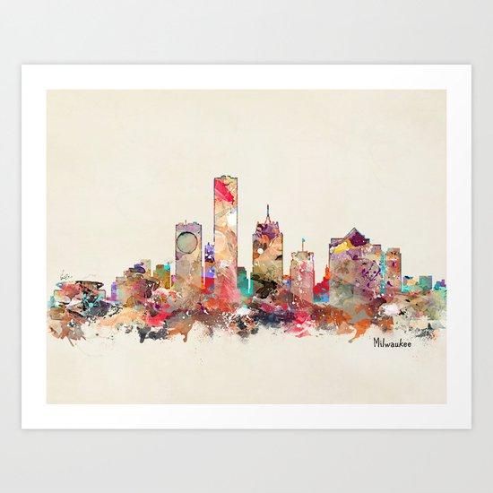 milwaukee wisconsin  Art Print