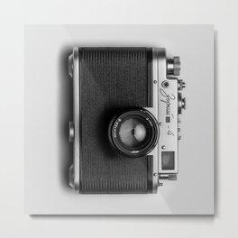 Vintage camera    retro lens Metal Print