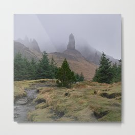 Old Man of Storr Metal Print
