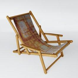 Rusty Boxy Sling Chair