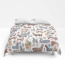 Llamas and Alpacas Comforters