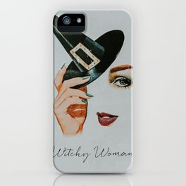 Witchy Woman II iPhone Case