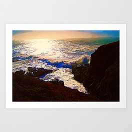 Midnight Light Art Print