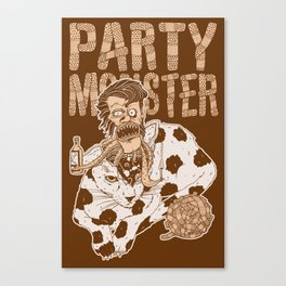 Party Monster Canvas Print