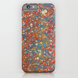 Red Sea, Antique Straight Pattern  iPhone Case