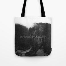 WANDERLUST. Tote Bag