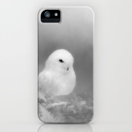 Owl In The Moonlight iPhone Case