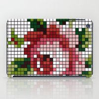 shabby chic iPad Cases featuring Shabby Chic Rose by Alisa Galitsyna