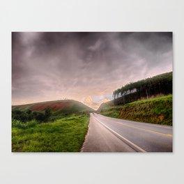 Any road Canvas Print