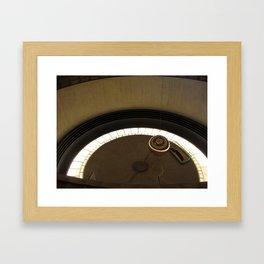Griffith Observatory Pendulum Framed Art Print