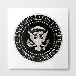 Presedent Seal Metal Print