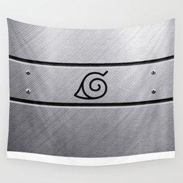 Naruto Headband Wall Tapestry