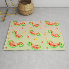 Watermelon & Mango Dance Rug