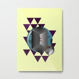 The Fold Metal Print