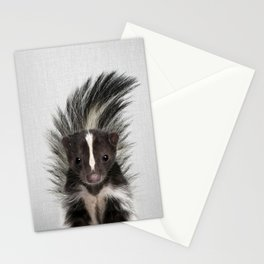 Skunk - Colorful Stationery Cards