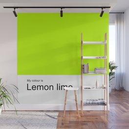 Lemon lime Wall Mural