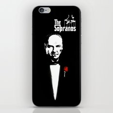 The Sopranos (The Godfather mashup) iPhone & iPod Skin