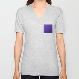 Purple deep gradient color cosmic Unisex V-Neck