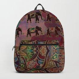 Floral Elephants #2 Backpack