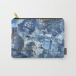 Blue Calcite Carry-All Pouch