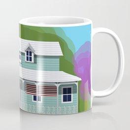 Historic Meroogal with Jacarandas 2020 Coffee Mug