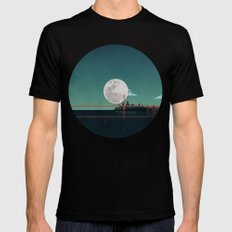 SAN FRANCISCO SMALL Black Mens Fitted Tee